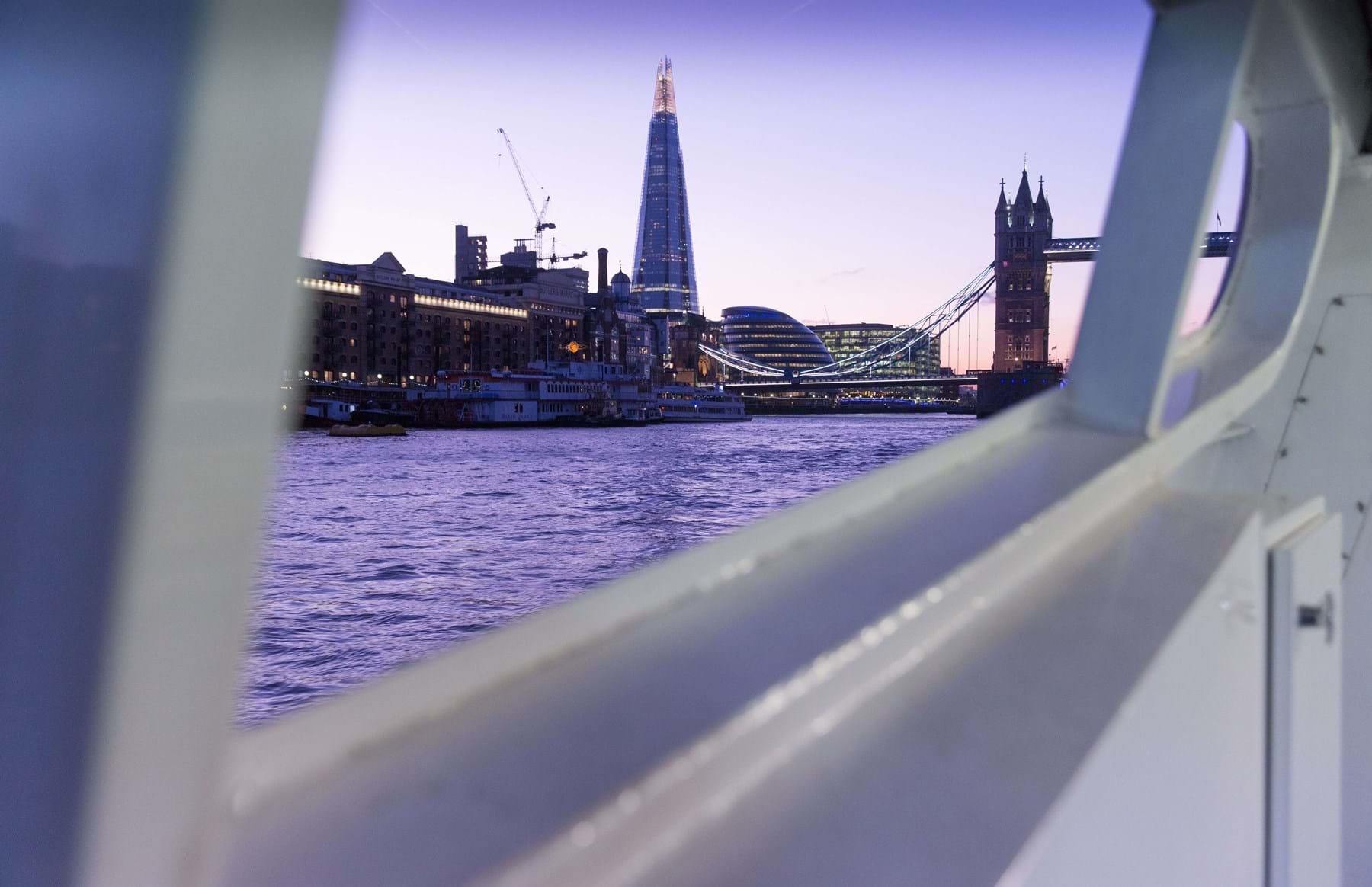 London Bridge from the boat