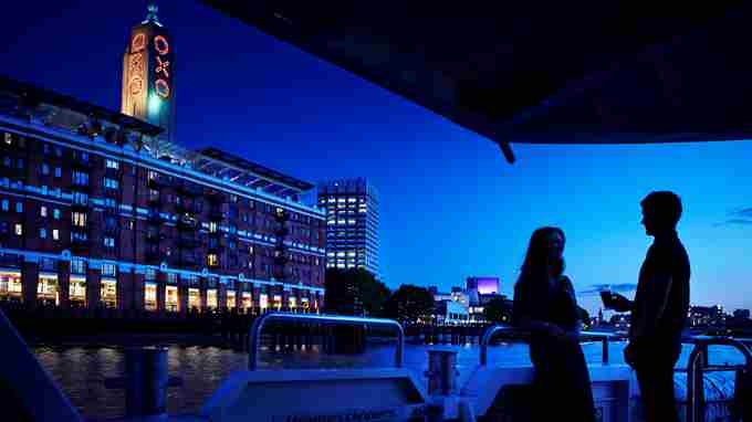 OXO Tower Night