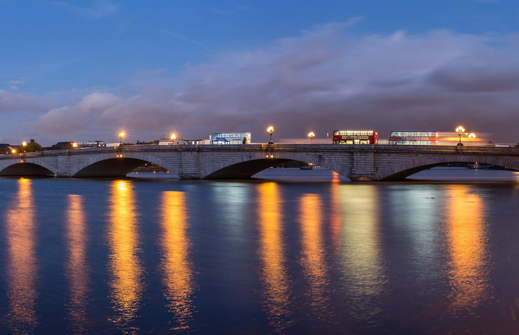 Putney Bridge At Dusk, London, UK Diliff