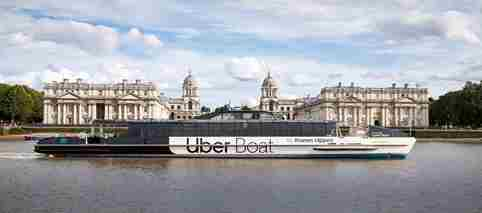 Uber Boat By Thames Clippers ORNC Home