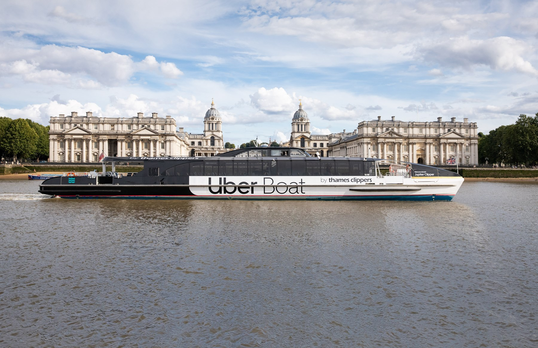 Uber Boat By Thames Clippers ORNC HERO ONLY
